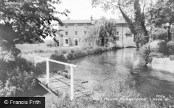 Hungerford, Mill House c.1960