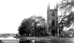 St Lawrence's Parish Church And Canal c.1955, Hungerford
