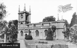 St Lawrence's Parish Church c.1960, Hungerford