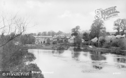 Hungerford, The River Kennet 1903