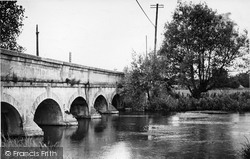 The River Kennet c.1955, Hungerford