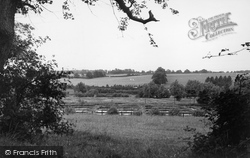 Trout Farm From The Common c.1955, Hungerford