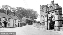 Hunmanby, All Saints Church And White Swan Hotel c.1950