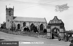 All Saints Church c.1950, Hunmanby