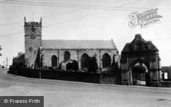 All Saints Church c.1955, Hunmanby