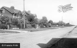 Muston Road c.1955, Hunmanby