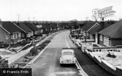 Wrangham Drive c.1965, Hunmanby