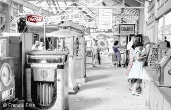Hunstanton, Fun Fair at the Pier Head c1955