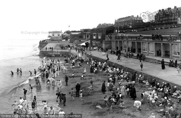 Hunstanton The Beach From Pier 1927 Francis Frith