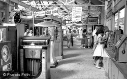 Hunstanton, the Fun Fair c1955