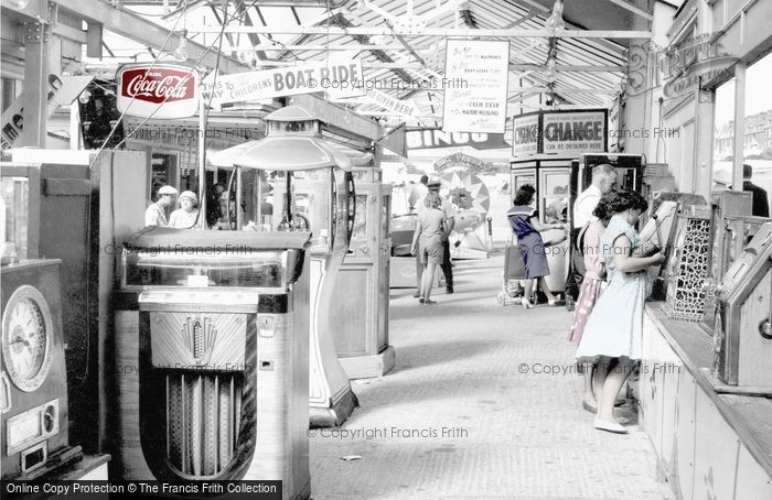 Hunstanton, The Fun Fair c.1955