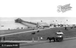 The Green And The Pier 1927, Hunstanton