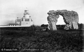 Hunstanton, the Lighthouse 1893