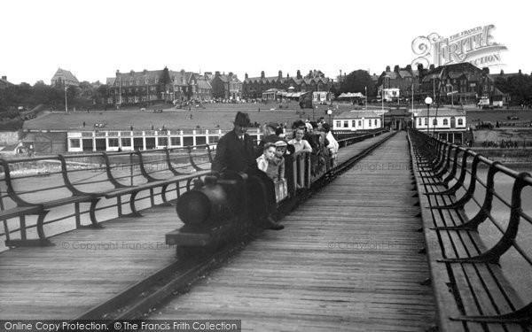 Hunstanton, The Pier And Miniature Railway c.1955