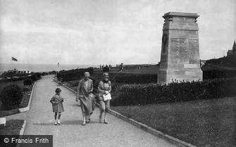 Hunstanton, War Memorial Gardens 1927