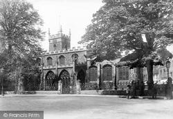 Huntingdon, All Saints Church 1898