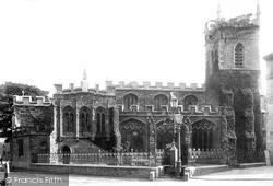 Huntingdon, All Saints Church 1901