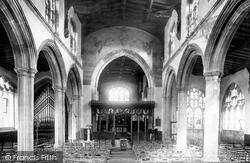Huntingdon, All Saints' Church Interior 1898