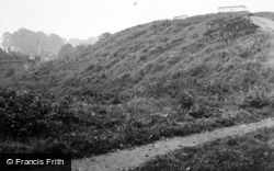 Huntingdon, Castle Mound 1951