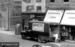 Huntingdon, Delivery Van c.1955