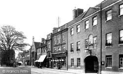 Huntingdon, Fountain Hotel 1906