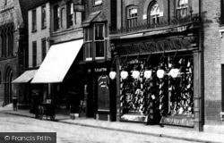 Huntingdon, Freeman Hardy & Willis Shoe Shop 1906