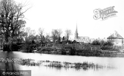 Huntingdon, From The River Ouse 1898