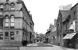Huntingdon, George Hotel And High Street 1906