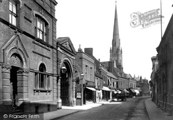 Huntingdon, High Street 1901