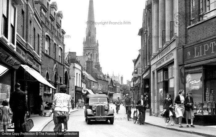 Photo of Huntingdon, High Street 1950
