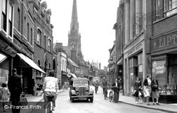 Huntingdon, High Street 1950