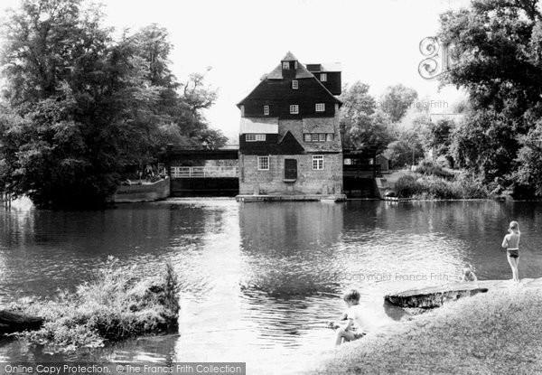 Houghton,the Mill c1955,Cambridgeshire