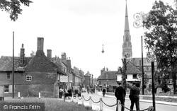 Huntingdon, High Street c.1950