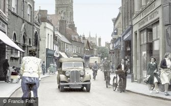 Huntingdon, High Street c1950