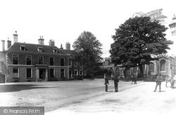 Huntingdon, Market Hill 1898