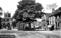 Huntingdon, Market Hill 1901