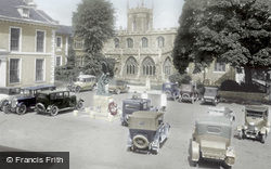 Huntingdon, Market Hill 1929