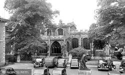 Huntingdon, Market Square c.1955