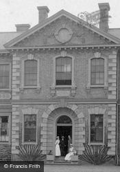 Nurses, The County Hospital 1898, Huntingdon