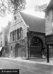 Huntingdon, Oliver Cromwell's School c.1955