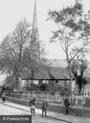 On The Way To School 1906, Huntingdon