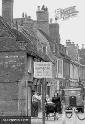 Pushing The Pram On High Street c.1950, Huntingdon
