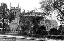 Huntingdon, St Mary's Church 1898