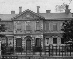 Huntingdon, The Hospital 1906