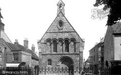 Huntingdon, The Old Grammar School 1898