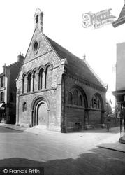 Huntingdon, The Old Grammar School 1929