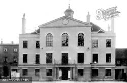 Huntingdon, Town Hall 1898