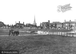 Huntingdon, Walks East From Mill Common 1929