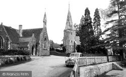 Huntley, Church And School c.1955