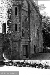 Huntly, Huntly Castle 1949